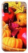 Basket Full Of Autumn IPhone Case