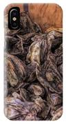 Basket Full Of Oysters IPhone Case