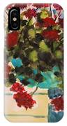 Basket Of Geraniums IPhone Case