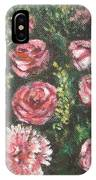 Basket Of Pink Flowers IPhone Case