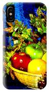 Basket With Fruit IPhone Case