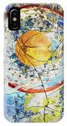 Basketball _version 45 IPhone Case