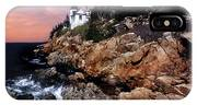 Bass Harbor Head Lighthouse In Maine IPhone Case
