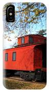 Batavia Depot Caboose IPhone Case