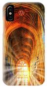 Bath Abbey Sun Rays IPhone Case