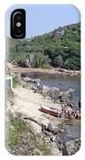 Bathers At Cales Coves IPhone Case