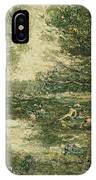 Bathers. Woodland IPhone Case
