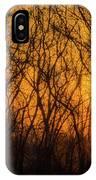 Batik Sunset IPhone Case