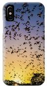 Bats At Bracken Cave IPhone Case
