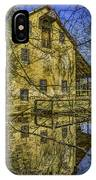 Batsto Gristmill Reflection IPhone Case