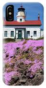 Battery Point Lighthouse In Crescent City IPhone Case