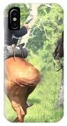 Battle By Horseback IPhone Case