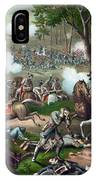 Battle Of Chancellorsville - Death Of Stonewall IPhone Case