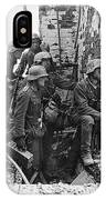 Battle Of Stalingrad  Nazi Infantry Street Fighting 1942 IPhone Case