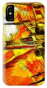 Star Wars X-wing Fighter - Oil IPhone Case