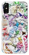 Battling Kites -- Gray IPhone Case