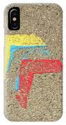 Bauhaus Symbol Paving Stone IPhone Case