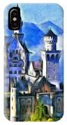 Bavaria's Neuschwanstein Castle IPhone Case