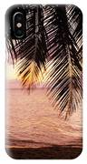 Bay Islands At Sunset IPhone Case