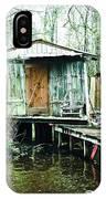 Bayou Cabin IPhone Case