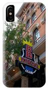 Bb King Bar Nashville IPhone Case