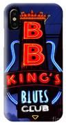 B B King's Blues Club IPhone Case