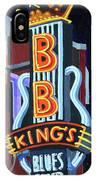 Bb King's Blues Club IPhone Case