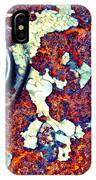 Bbq Pit Abstract IPhone Case