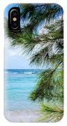 Beach Among The Trees IPhone Case
