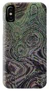 Beach Bubbles Abstract IPhone Case
