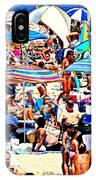 Beach Chaos IPhone Case