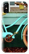 Beach Cruiser Bike IPhone Case