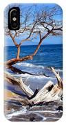 Beach Driftwood Fine Art Photography IPhone Case