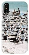 Beach Flock IPhone Case