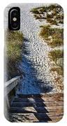Beach Footprints - Boca Grande Florida IPhone Case