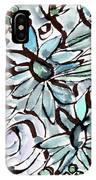 Beach Glass Flowers 2- Art By Linda Woods IPhone Case