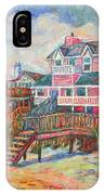 Beach Houses At Pawleys Island IPhone Case