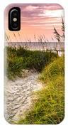 Beach Path Sunrise IPhone Case