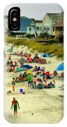 Beach Play IPhone Case