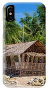 Beach Side Nipa Hut IPhone Case