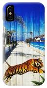 Beach Tiger  IPhone Case