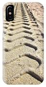Beach Tracks IPhone Case
