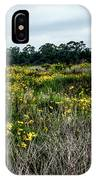 Beach Wildflowers 7 IPhone Case
