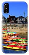 Beached Kayaks IPhone Case