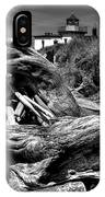 Beached Tree Stump IPhone Case