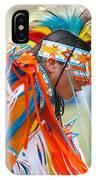 Beaded Pow Wow Dancer IPhone Case