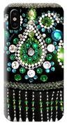 Beadwork And Rhinestones. Belly Dance Fashion IPhone Case