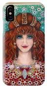Sarah Goldberg Beauty Queen. Beadwork IPhone Case