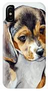 Beagle Puppy IPhone Case