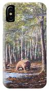 Bear And Her Cubs IPhone Case